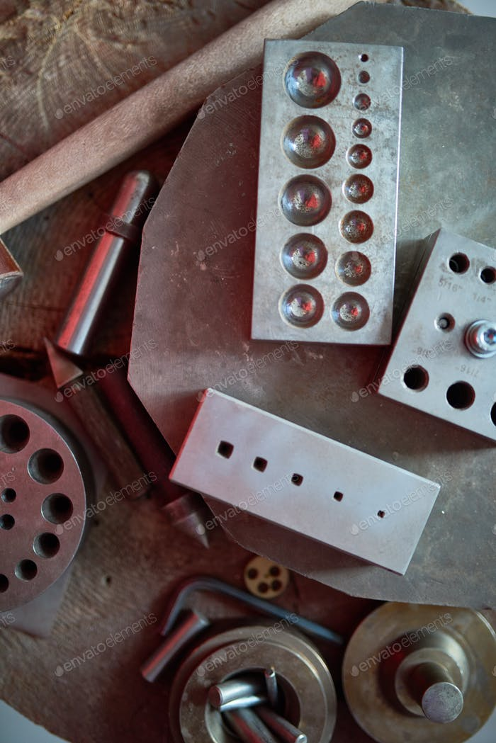 Metalworking Forms at Jewelry Factory