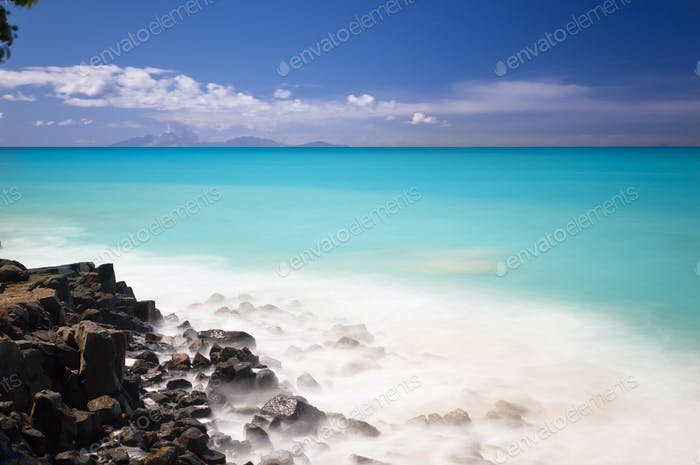 Caribbean Sea Long Exposure, Antigua