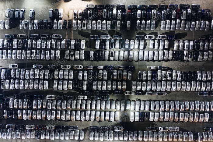 Top view of Parking