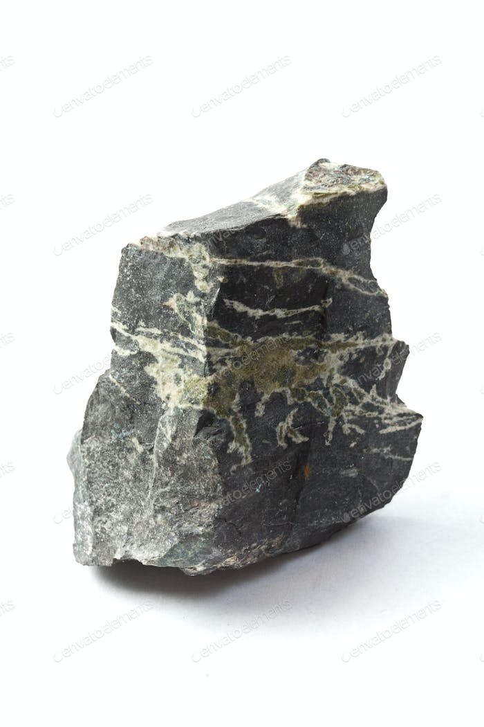 Isolated sample of the stone
