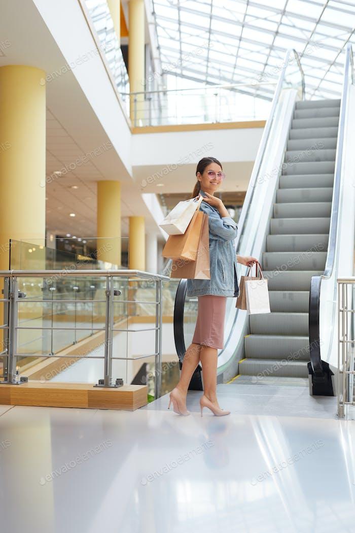 Einkaufswochenende im neuen Einkaufszentrum