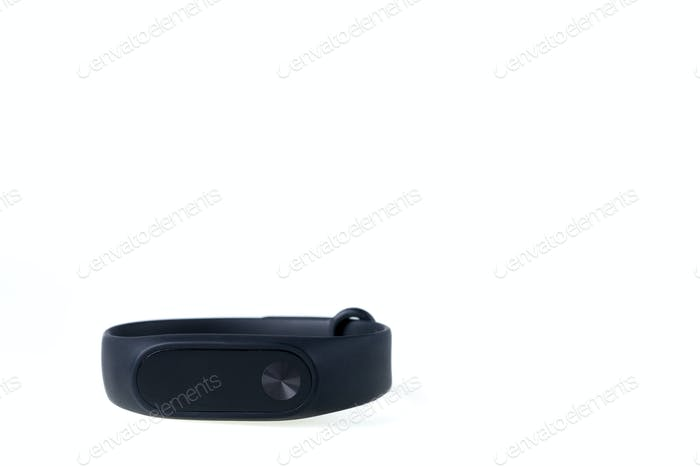 Black fitness tracker