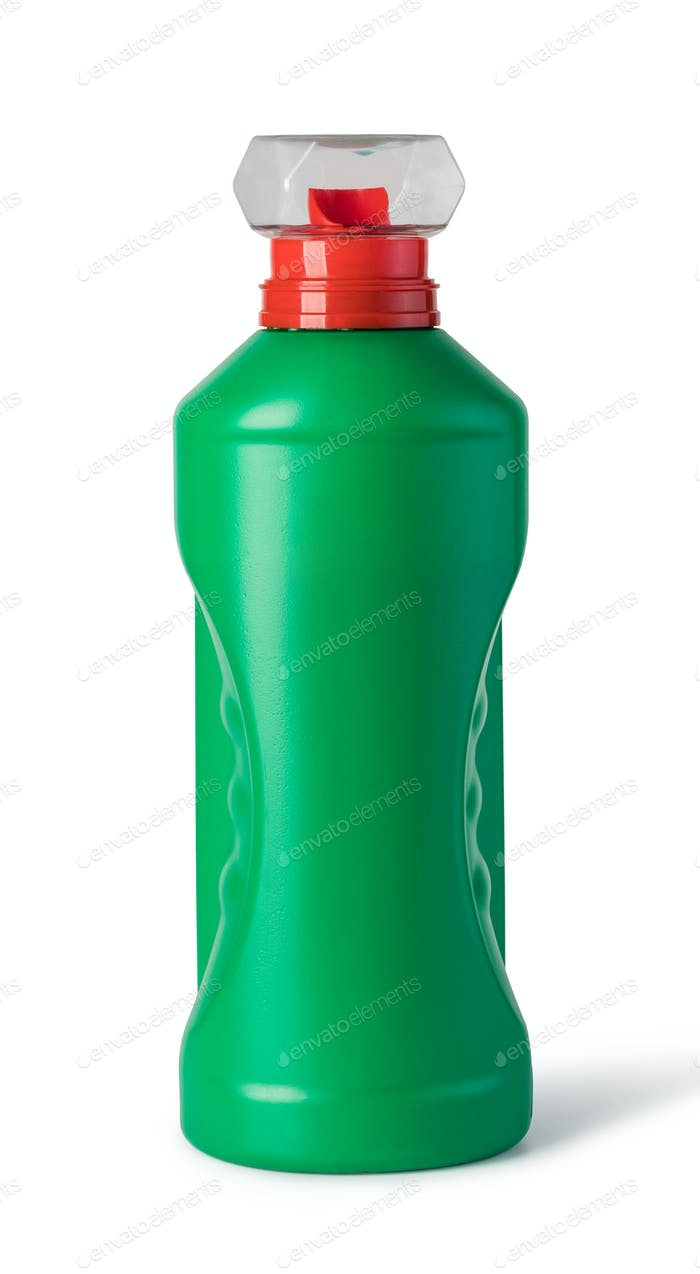 bottles of cleaning product