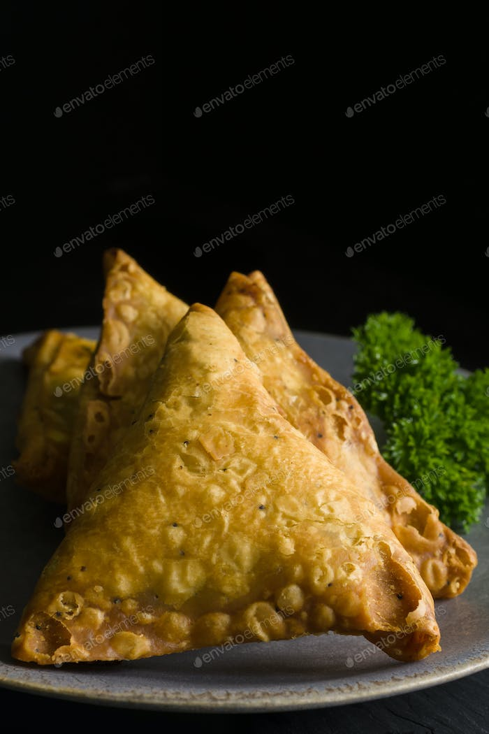 Spicy Indian Samosas