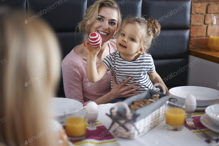 Familienzeit in der Ostersaison