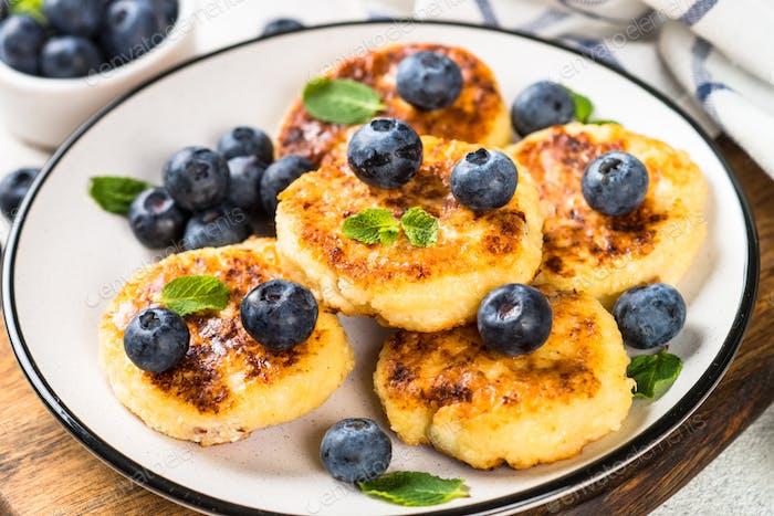 Hüttenkäse Pfannkuchen