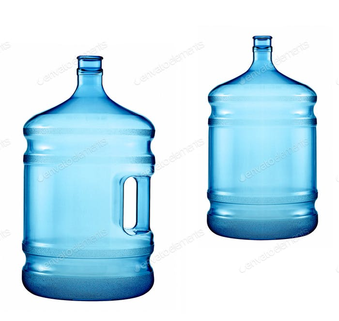 large bottles of pure water