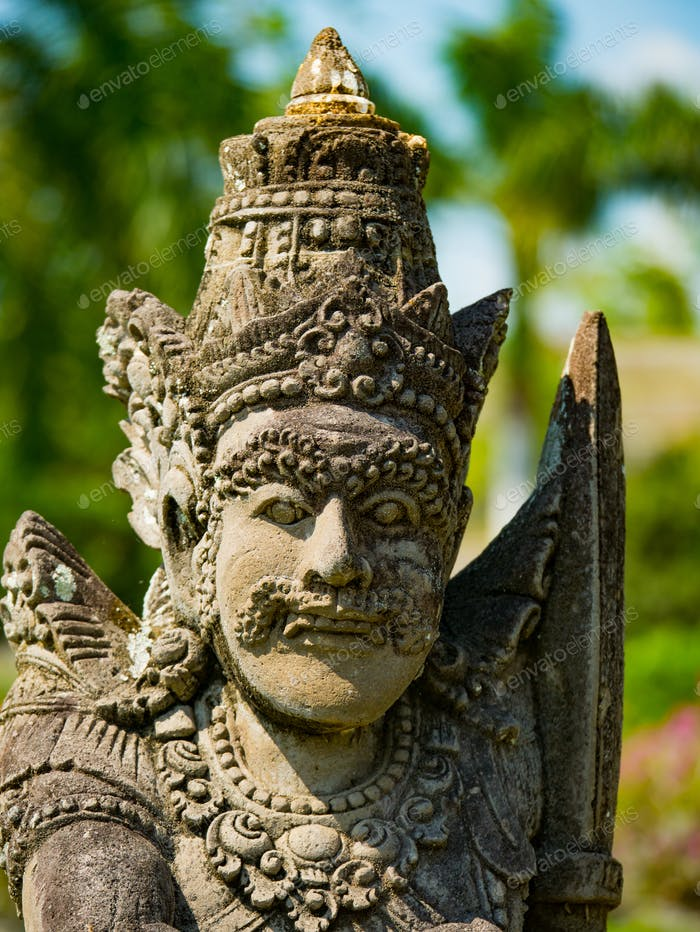Statue at the Water Palace, Bali, Indonesia
