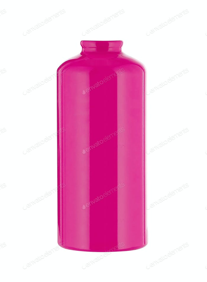 Purple Plastic bottle