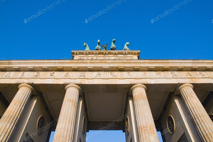 Detail des Brandenburger Tor