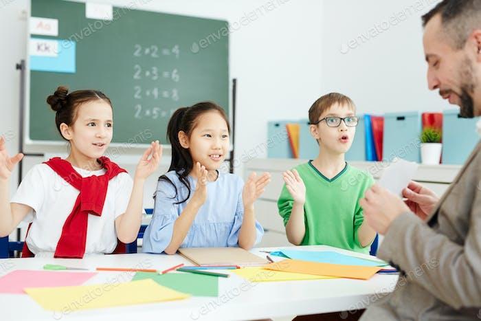 Arbeiten im Unterricht