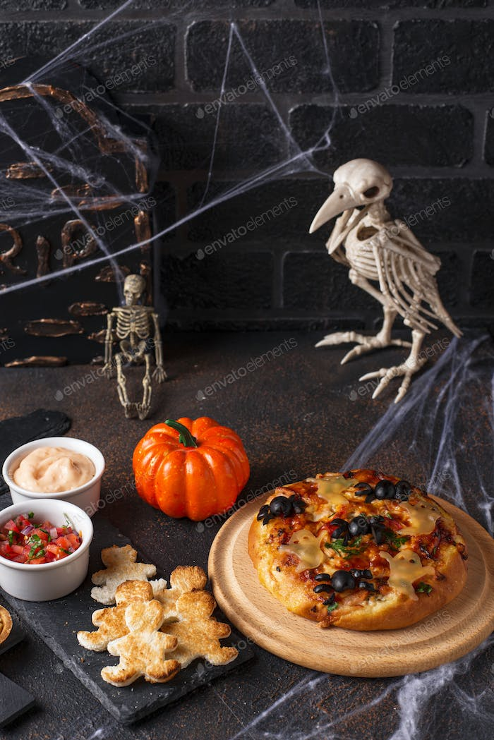 Scary appetizers for Halloween party