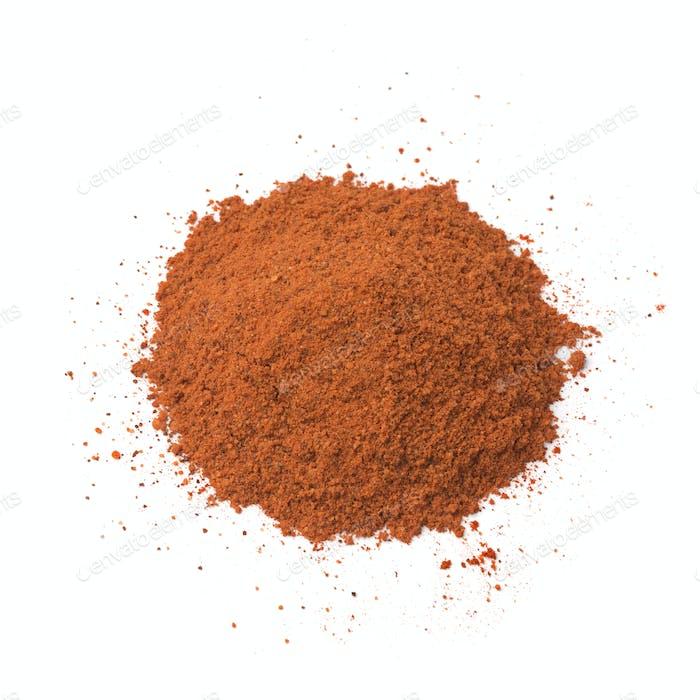 Heap of Annatto powder