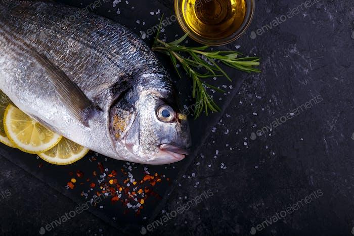 Raw fish