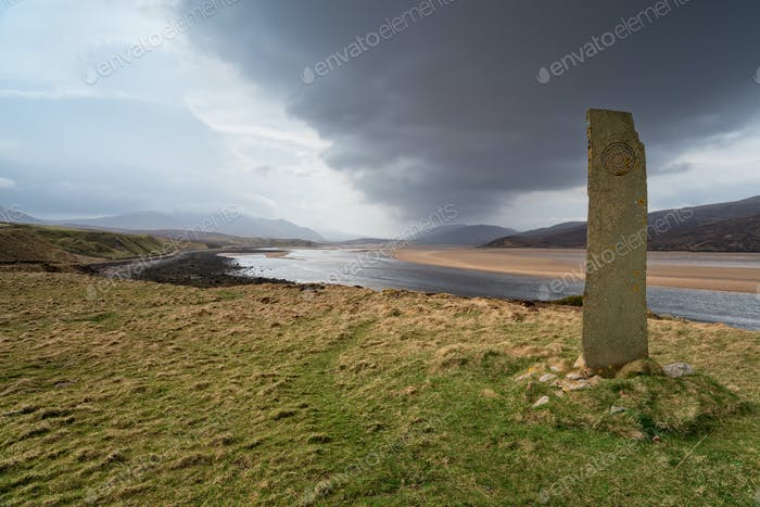 Kyle of Durness in Scotland