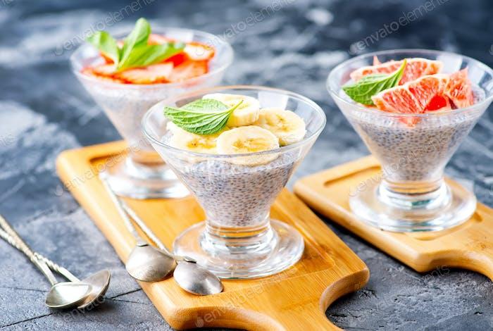 Wüste mit Früchten