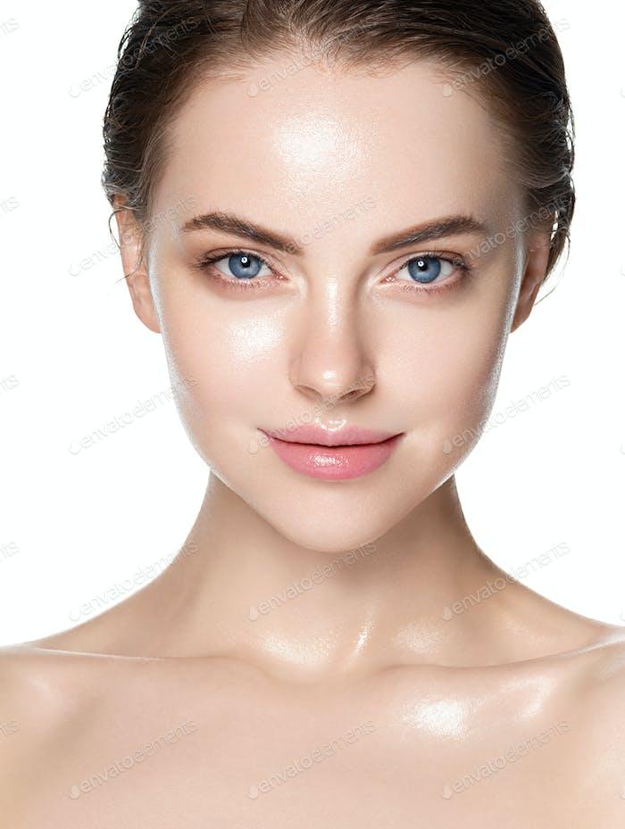 Warm beauty skin woman clean healthy beauty