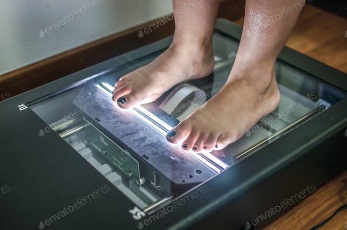 Foot posture test