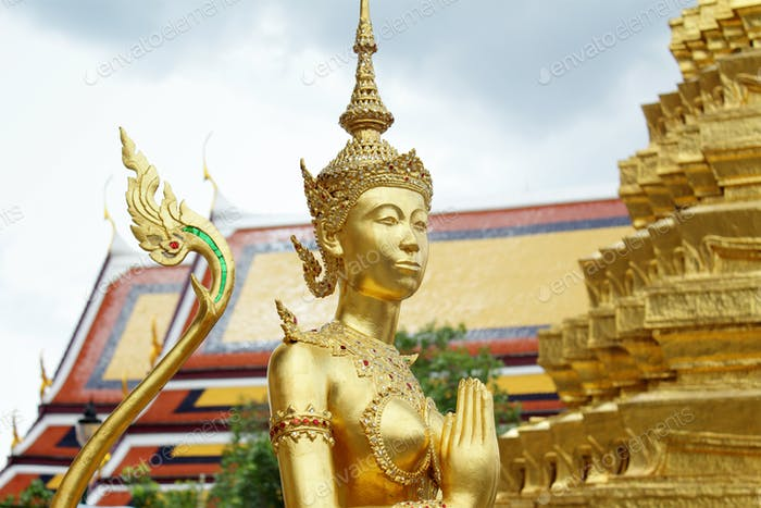 Buddha sculpture in Grand Palace, Thailand