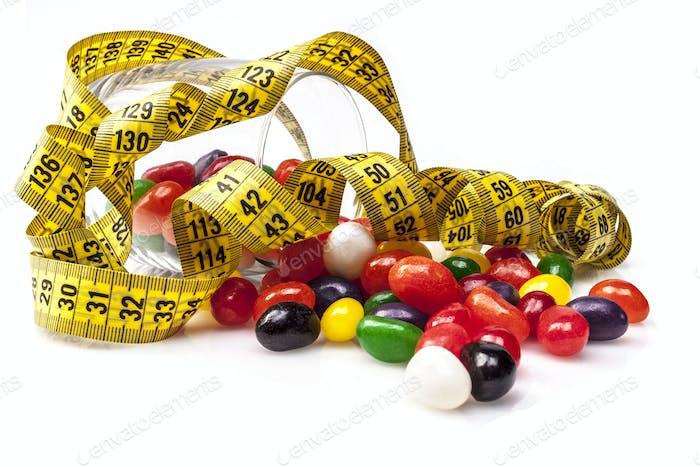 Diät nicht Süßigkeiten