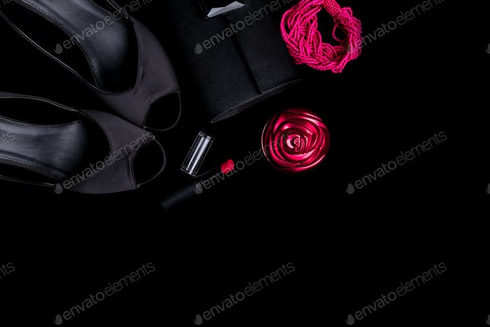 Fashion Lady Woman Accessories Set.