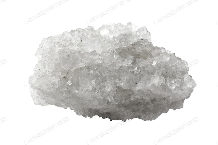 Crystal of mineral salt