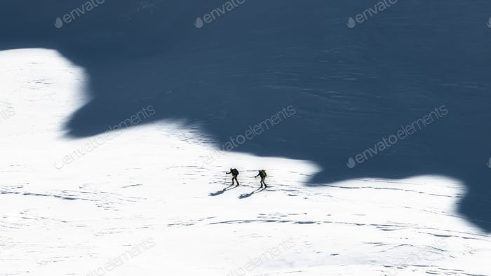 Ski mountaineers