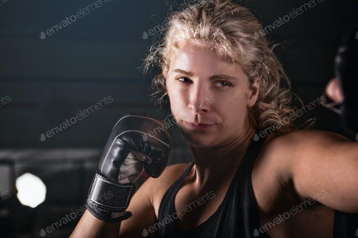 Rubias Mujeres Boxeo