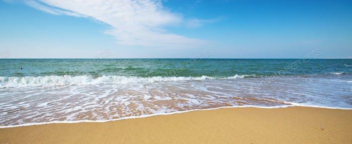 Sommer am Meer Strand.