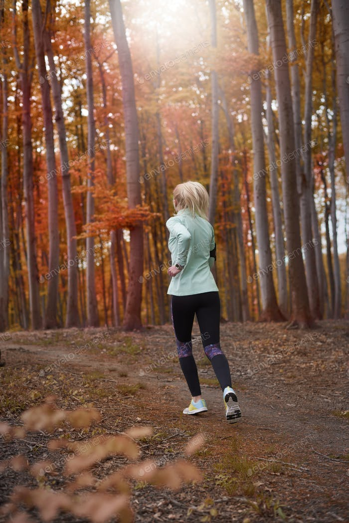 Autumn is a perfect time to jog