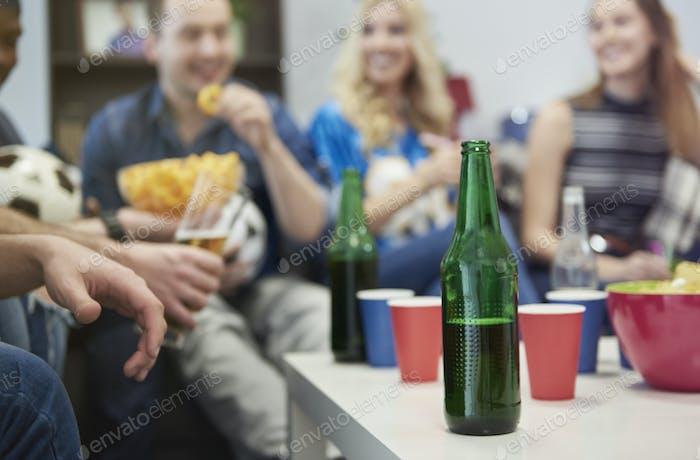Jeder hat eine tolle Zeit zusammen
