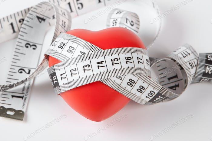 Herz und Messgerät