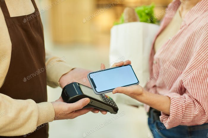 Smartphone Payment Close Up