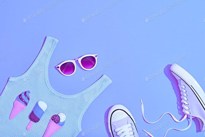 Purple Summer Set