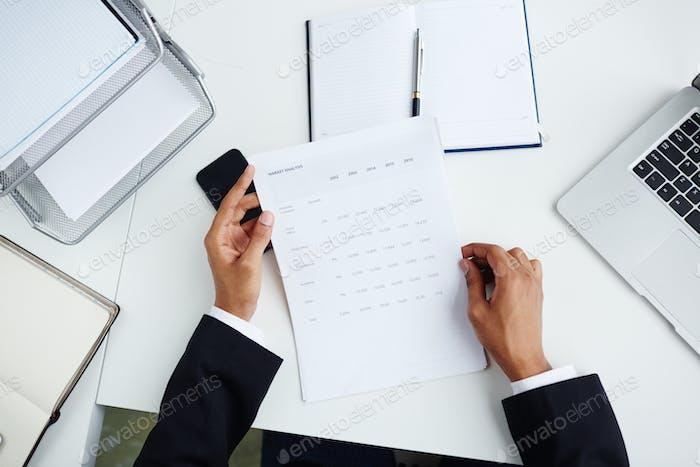 Analyzing paper