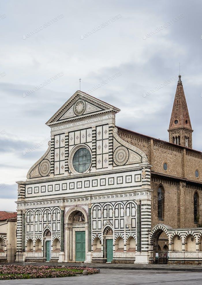Santa Maria Novella Basilica in Florence, Italy