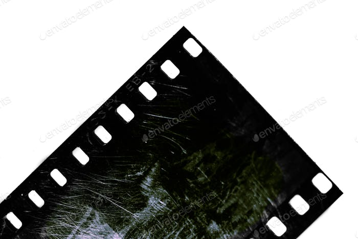 Detail of photographic film