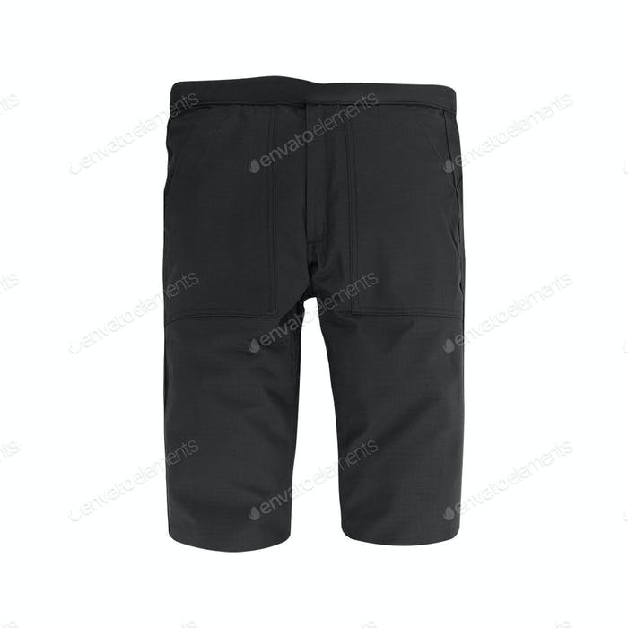 shorts. Isolated on white background