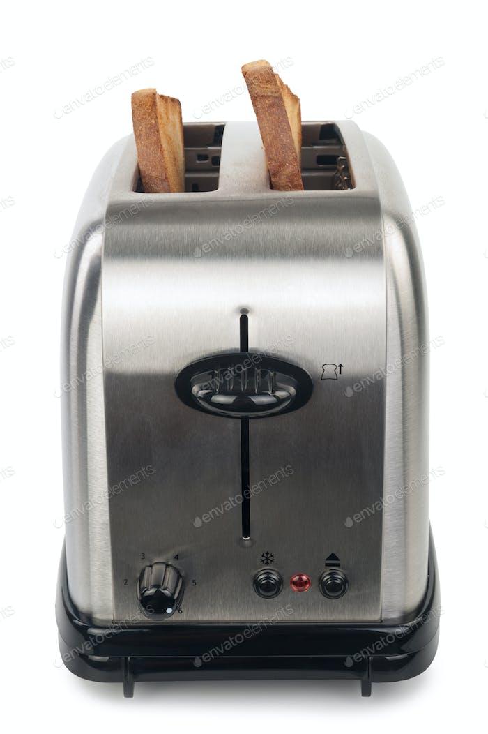 Toaster mit Brot