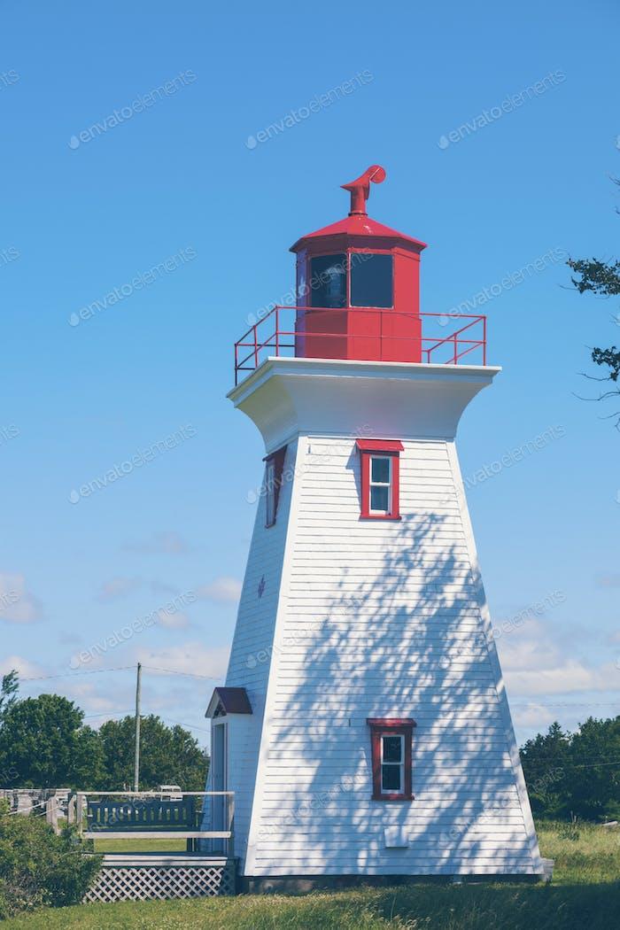 Leards Range Front Lighthouse on Prince Edward Island