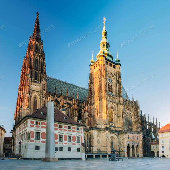 Veitsdom Prag, Tschechische Republik.