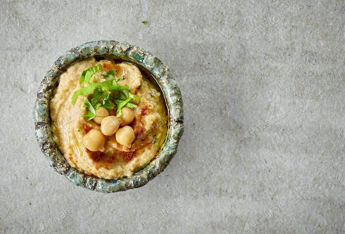 Schale Hummus