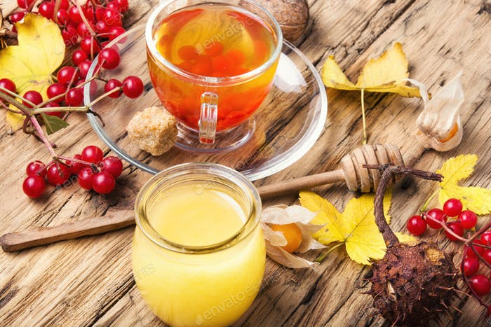 warming autumn tea