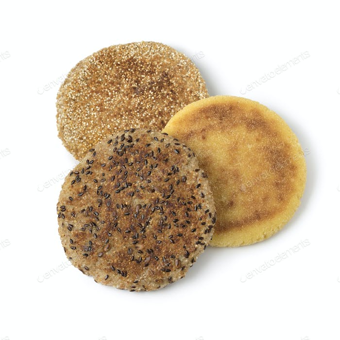 Variety of Moroccan harcha, flatbread