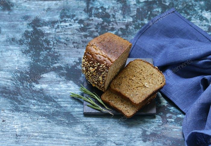 Rye Wholemeal Bread
