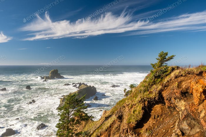 Thumbnail for USA Pacific coast landscape, Oregon