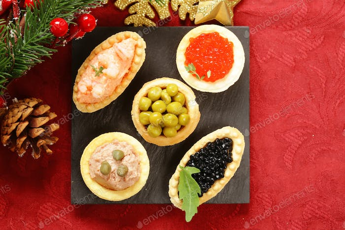 Christmas Appetizers.