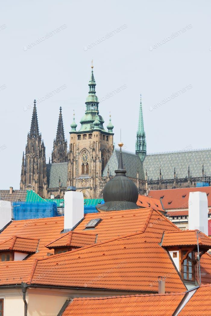 Prague. The cathedral of San Vito