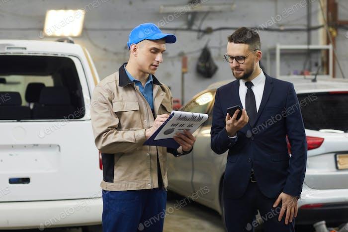 Car Service Worker Rendering Report