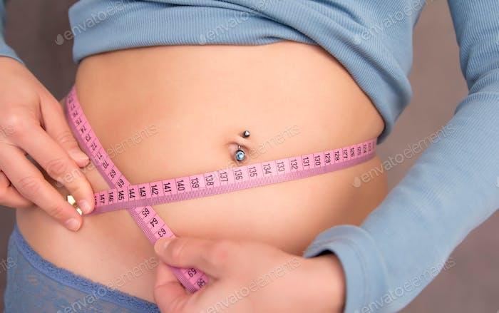 Waist measuring